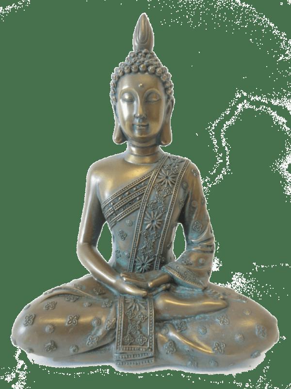 bronsgroene boeddha