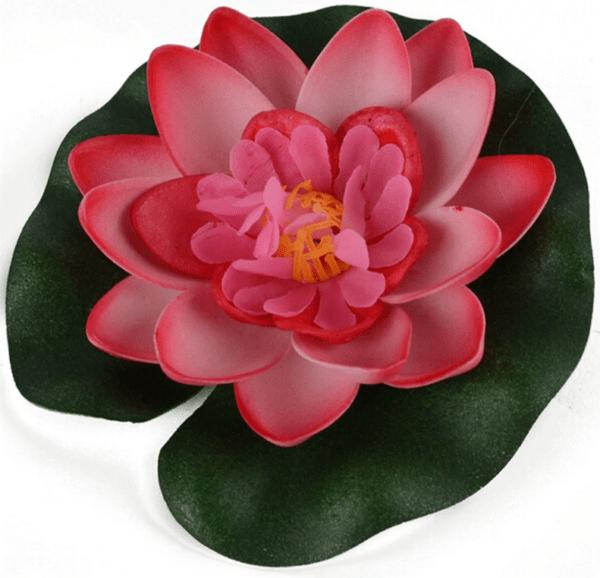 lotus waterlelie kunststof