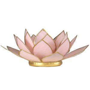 lotus sfeerlicht pastel roze