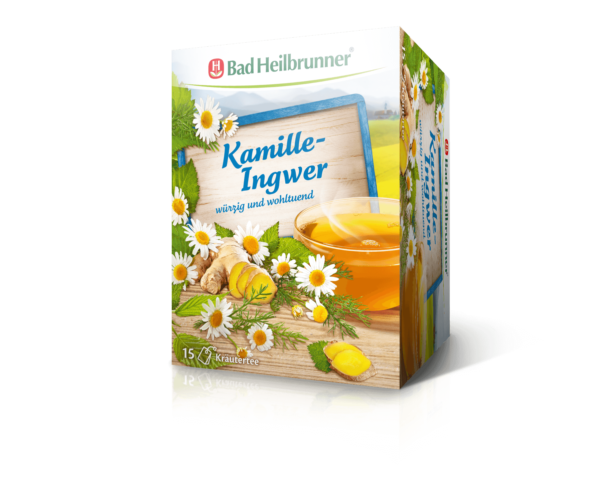 kamille gember thee