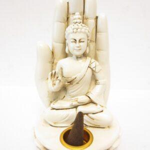 Boeddha.online wierookhouder Boeddha porselein