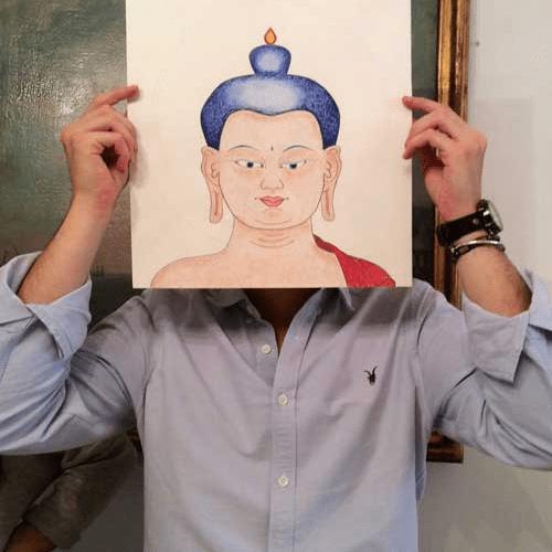 Boeddha.online cursus Boeddha tekenen