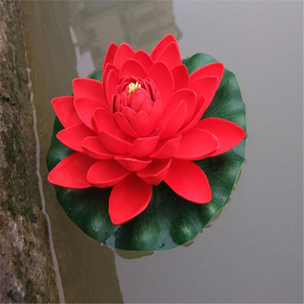 drijvende lotus rood
