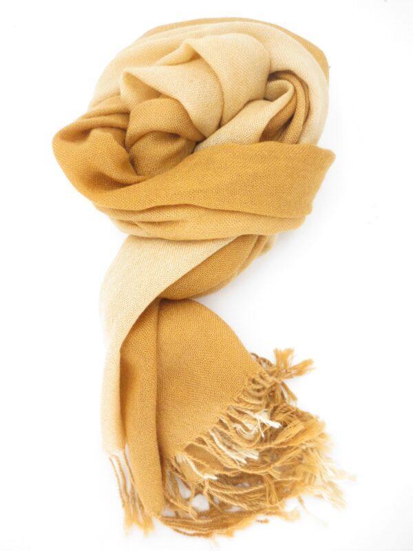 sjaal beige karamel - Boeddha.online