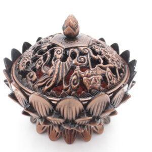 tibetaanse wierookbrander brons - Boeddha.online