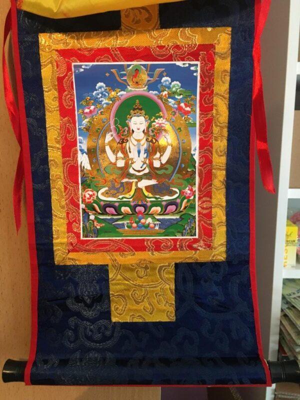 thangka Avalokiteshvara